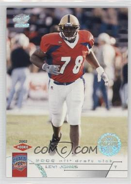 2002 Pacific - [Base] - LTD #454 - Levi Jones /71