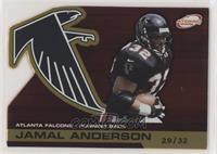Jamal Anderson [NoneEXtoNM] #/32