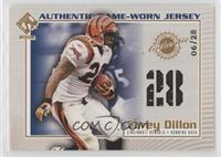 Corey Dillon #/28