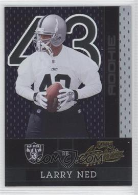 2002 Playoff Absolute Memorabilia - [Base] #166 - Larry Ned /1500