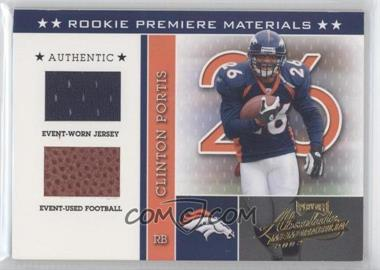2002 Playoff Absolute Memorabilia - [Base] #221 - Clinton Portis /825