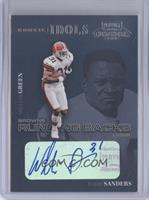 William Green, Barry Sanders /25