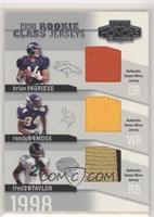 Brian Griese, Randy Moss, Fred Taylor #/50