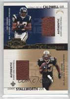 Donald Reche Caldwell, Donte Stallworth [Noted] #/250