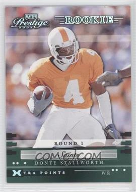 2002 Playoff Prestige - [Base] - Xtra Points Green #161 - Donte Stallworth /25