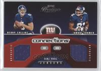 Kerry Collins, Amani Toomer #/500
