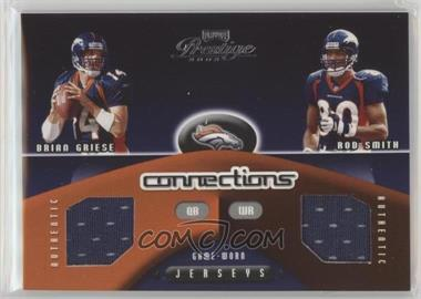 2002 Playoff Prestige - Connections #C-22 - Brian Griese, Rod Smith /500