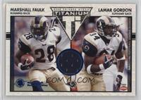 Marshall Faulk, Lamar Gordon /200