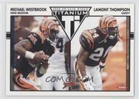 Michael Westbrook, Lamont Thompson #/325