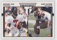 Michael Vick, Kurt Kittner #/275