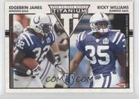 Edgerrin James, Ricky Williams #/275