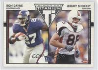 Jeremy Shockey, Ron Dayne #/275