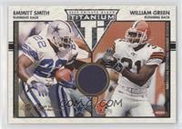 Emmitt Smith, William Green /500