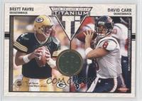 Brett Favre, David Carr /500