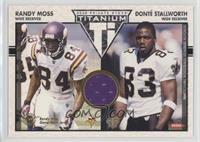 Randy Moss, Donte Stallworth /500