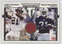Corey Chavous, Phillip Buchanon #/1,100