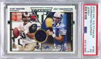 Kurt Warner, Joey Harrington [PSA 5 EX] #/500