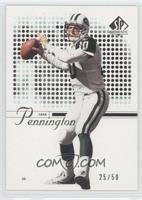 Chad Pennington #/50