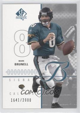 2002 SP Authentic - [Base] #105 - Mark Brunell /2000