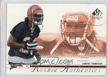 2002 SP Authentic - [Base] #174 - Lamont Thompson /1150