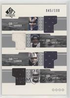 Brian Griese, Rich Gannon, Kurt Warner, Quincy Carter /100