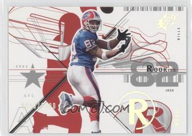 2002 SPx - [Base] #123 - Josh Reed /1500