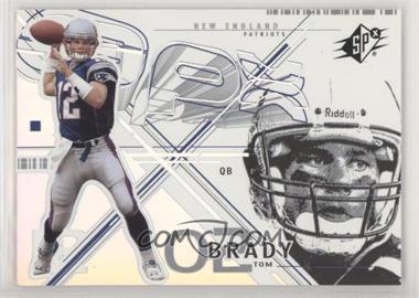 2002 SPx - [Base] #6 - Tom Brady