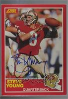 Steve Young (1989 Score) [Buy Back] #/60
