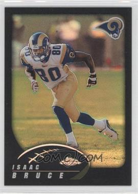 2002 Topps Chrome - [Base] - Black Refractor #104 - Isaac Bruce /599