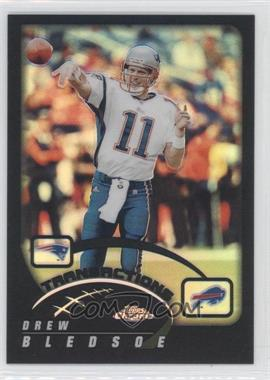 2002 Topps Chrome - [Base] - Black Refractor #18 - Drew Bledsoe /599
