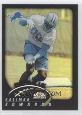2002 Topps Chrome - [Base] - Black Refractor #216 - Kalimba Edwards /100