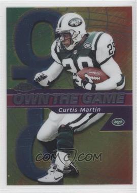 2002 Topps Chrome - Own the Game #OG10 - Curtis Martin