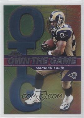 2002 Topps Chrome - Own the Game #OG13 - Marshall Faulk