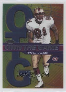 2002 Topps Chrome - Own the Game #OG19 - Terrell Owens