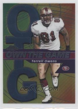 2002 Topps Chrome - Own the Game #OG19 - Terrell Owens