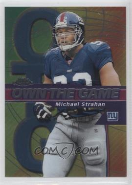 2002 Topps Chrome - Own the Game #OG25 - Michael Strahan