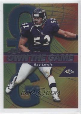 2002 Topps Chrome - Own the Game #OG27 - Ray Lewis