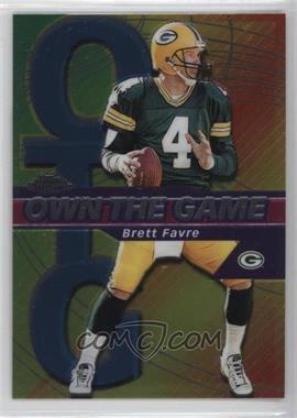 2002 Topps Chrome - Own the Game #OG4 - Brett Favre