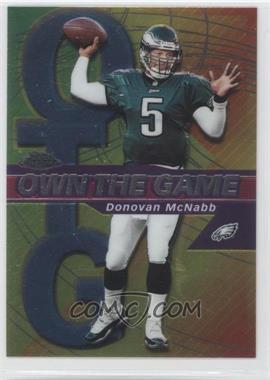 2002 Topps Chrome - Own the Game #OG5 - Donovan McNabb