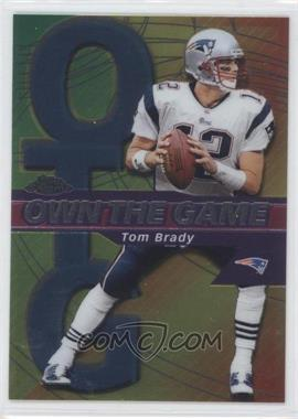 2002 Topps Chrome - Own the Game #OG7 - Tom Brady