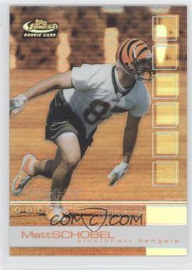 2002 Topps Finest - [Base] - Refractor #108 - Matt Schobel /250