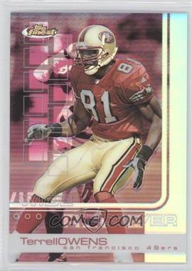 2002 Topps Finest - [Base] - Refractor #62 - Terrell Owens /250