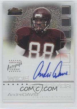 2002 Topps Finest - [Base] #129 - Andre' Davis /1200