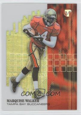 2002 Topps Pristine - [Base] - Refractor #166 - Marquise Walker /499