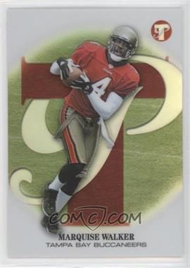 2002 Topps Pristine - [Base] - Refractor #167 - Marquise Walker /199