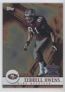 2002 Topps Pro Bowl Card Show - [Base] #7 - Terrell Owens