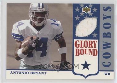 2002 UD Authentics - Glory Bound Jerseys #GBJ-AB - Antonio Bryant