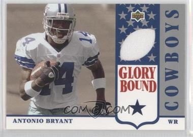 2002 UD Authentics - Glory Bound Jerseys #GBJ-AB - Antonio Bryant