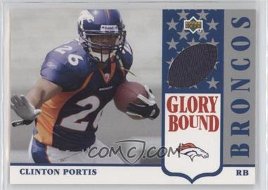 2002 UD Authentics - Glory Bound Jerseys #GBJ-CP - Clinton Portis