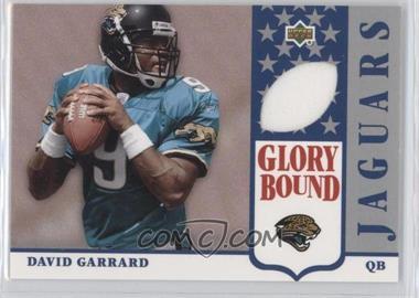 2002 UD Authentics - Glory Bound Jerseys #GBJ-DG - David Garrard